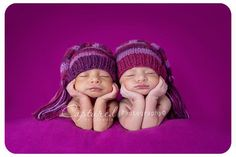 Twins - newborn baby pictures
