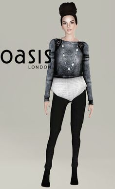 OASIS London 2013 Fashion Clothes Set at Orange Sim Club - Sims 3 Finds
