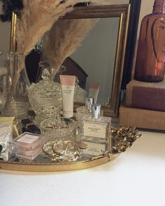 """101 Likes, 5 Comments - Mandy (@mandy_p) on Instagram: """"Vanity tray details✨"""" #bathroomvanities"""