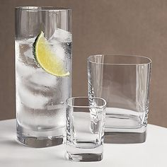 Strauss Glasses in Bar and Drinking Glasses | Crate and Barrel