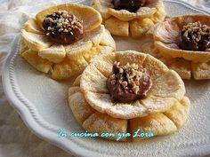 Fiori+di+carnevale+con+cioccolato+e+nocciole