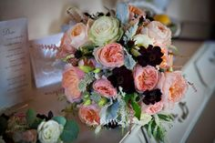 Tuscany wedding bouquet