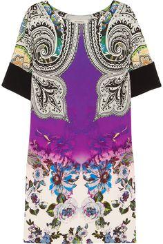 Etro Printed crepe dress NET-A-PORTER.COM