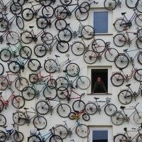 Creative Installation at a Bicycle Shop in Germany