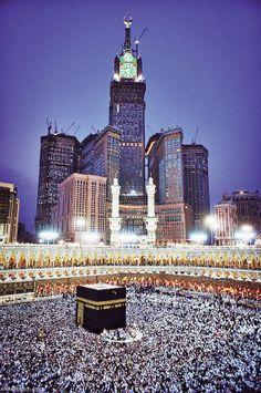 Islamic Images, Islamic Pictures, Islamic Art, Mecca Islam, Mecca Kaaba, Islamic Wallpaper Hd, Mecca Wallpaper, Makkah Tower, Masjid Haram