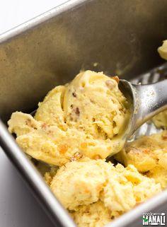 Ice Cream Flavors, Ice Cream Recipes, Indian Ice Cream, Butterscotch Ice Cream, Cooking Ice Cream, Mango Ice Cream, How Sweet Eats, Delicious Desserts, Cravings