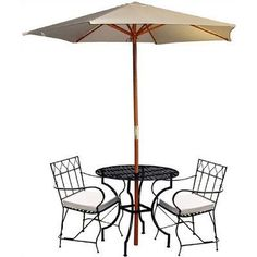 3 Piece Dining Set Finish: Black By Pangaea Home And Garden. $455.00. PZ1092