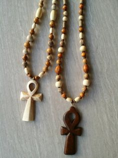 Check out this item in my Etsy shop https://www.etsy.com/listing/277418686/picture-jasper-wood-ankh-necklace
