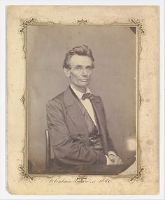 1860 Abraham Lincoln.
