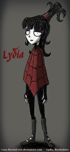 Lydia - Beetlejuice by RavenEvert.deviantart.com on @deviantART