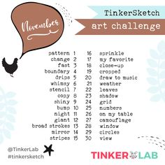 Fall Craft, Thanksgiving Algorithm Activity, Math Word Problem and Hidden Pictures, Fizzy Snowman and Christmas Slime 30 Day Art Challenge, Sketchbook Challenge, December Photo Challenge, Drawing Challenge, Art Sketchbook, Art Therapy Projects, Art Therapy Activities, Easy Fall Crafts, Fall Crafts For Kids