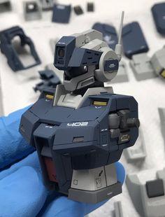 Jim II Gundam Mobile Suit, Gundam Custom Build, Gundam Art, Gunpla Custom, Military Modelling, Mecha Anime, Robot Design, Gundam Model, Toys Photography