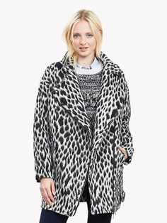 Spotted Cocoon Coat