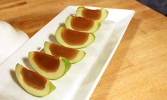 Caramel apple Jell-O shots!! http://www.buzzfeed.com/emofly/how-to-make-delicious-caramel-apple-jello-shots?s=mobile