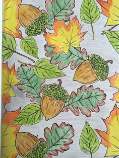 [Coloring Ideas] Herbst / Autumn