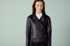 Vernon Forever Leather Jacket - Finery London   UK