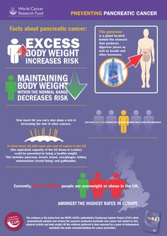 Preventing pancreatic cancer infographic!