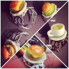 Mini burger rings!