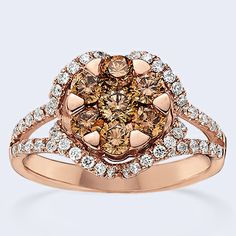 BROWN diamonds are a girl's best friend! www.benbridge.com/product.php?productid=999002812