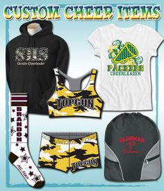 Let us dress your cheer  team! We can do uniforms, camp clothes, practice gear and much more! www.sportskatz.com or contact us @sportskatz on twitter