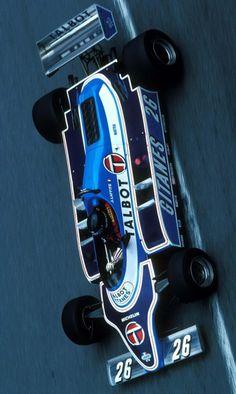 Jacques-Henri Laffite (FRA) (Equipe Talbot Gitanes), Ligier JS17 - Matra V12 (finished 3rd) 1981 Monaco Grand Prix, Circuit de Monaco