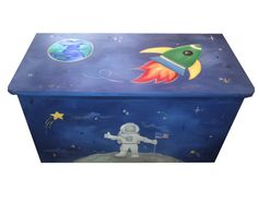 Childrens toy box - Outer Space https://www.etsy.com/listing/182214094/childrens-toy-box-outer-space?ref=shop_home_active_2