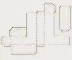 Letras em 3D com molde