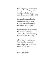 Ellis Nightingale Find Quotes, Poem Quotes, Motivational Quotes, Poetic Words, Nightingale, Writings, Bobs, At Home Workouts, Life Lessons