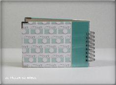 Contraportada albumcedario Office Supplies, Notebook, Mini Albums, Atelier, Paper Envelopes, Notebooks, The Notebook, Exercise Book, Scrapbooking