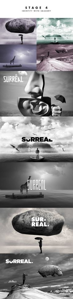 Surreal // Branding on Behance