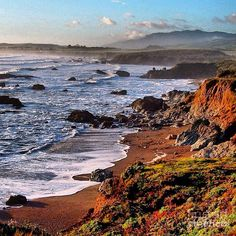 ✯ Sunrise Central California Coastline