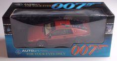 Rare Autoart 1/18 Lotus Esprit Turbo For Your Eyes Only James Bond 007 70060 MIB #AUTOart #Lotus