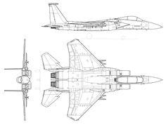McDonnell F-15A DraftSight.svg
