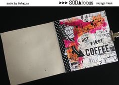 By Sabrina Berrich But First Coffee, Planner Pages, Mixed Media Art, Art Journals, Journal Ideas, Newspaper, Tutorials, Design, Journaling File System