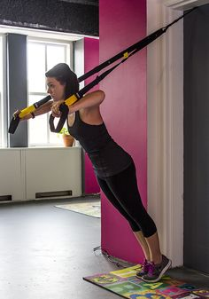 TRX is the most popular brand of suspension training, relying on your bodyweight through the entire workout.