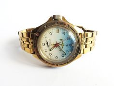 Soviet watch Diving watch  Mechanical movement  NOS by Watcheee