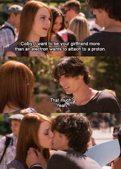 This is possibly my favorite part of the movie...  and just for the record... Tyson Ritter :)