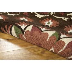 """Nourison Suzani SUZ02 Hand-tufted Area Rug - On Sale - Overstock - 7599401 - 2'3"""" x 8' Runner - Teal Teal Rug, Area Rugs For Sale, Brown Furniture, Home Decor Trends, Online Home Decor Stores, Outdoor Rugs, Persian Rug, Oriental Rug, Colorful Rugs"""