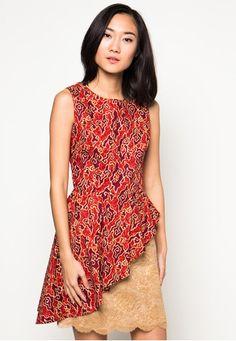 Dress Batik Clareta