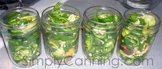 Pickled Peppers Recipe, Hot, mild. Jalapeno or Banana
