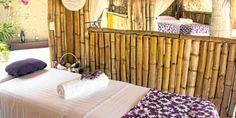 """¡Karmairi, un lugar de paz cerca de Cartagena!  """"El hotel está construido al frente de una playa virgen y rodeado de palmeras""""  REDACCIÓN EL TIEMPO Divider, Room, Furniture, Home Decor, Palm Trees, Cartagena, Peace, Colombia, Bedroom"""