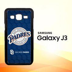 San Diego Padres Z3210 Samsung Galaxy J3 Edition 2016 SM-J310 Case