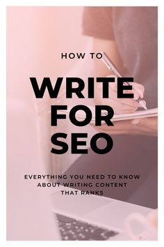 When it comes to search engine optimisation, it is best-practice to remember to write for your readers first, and THEN to focus on search engines. Why? Because your readers are the ones who will be using your website. I created this workbook to show you how to write for SEO without making your content sound like it was written for a robot. Seo Tips, Copywriting, Search Engine Optimization, Primary School, To Focus, Need To Know, Robot, Digital Marketing, Things To Come