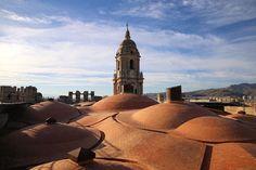Podczas wizyty na dachu Katedry w Maladze