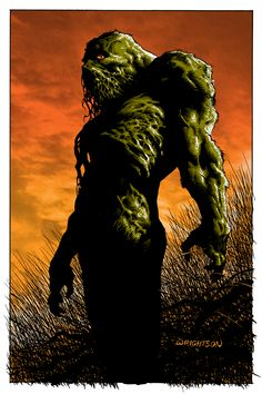 Sunset by Bernie Wrightson with colors byTim Doyle