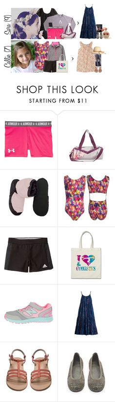 """Tuesday // Activities, Packing Up the Car & Dinner Party // 6.27.17"" by graywolf145 ❤ liked on Polyvore featuring Under Armour, Gymboree, Bloch, adidas, New Balance, Bonpoint and GrayWolfFamily"
