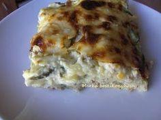 Marka boszikonyhája: Cukkinis-tejszínes lasagne Quiche, Breakfast, Ethnic Recipes, Food, Lasagna, Morning Coffee, Essen, Quiches, Meals