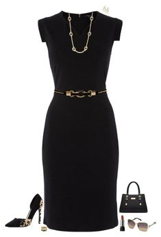 """""""LBD"""" by julietajj on Polyvore featuring Therapy, Michael Kors, Lauren Ralph Lauren, Lord & Taylor, Swarovski and Forever 21"""