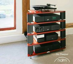 High end audio audiophile Naim @ Stereo Passion International