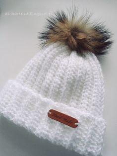 AS-kartelut: Virkkaa hittipipo Joko, Knitted Hats, Knit Crochet, Winter Hats, Crochet Patterns, Sewing, Knitting, Crafts, Diy